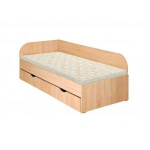 Односпальная кровать Венеция из щита бука 80х190 см. Купить недорого кровать Венеция из щита бука в интернет-магазине мебели МебельОк