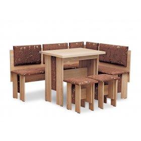Кухонный уголок Аристрокат с раскладным столом