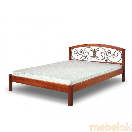 Кровать Кембридж с ковкой 160х190