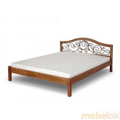 Кровать Неаполь с ковкой 140х200