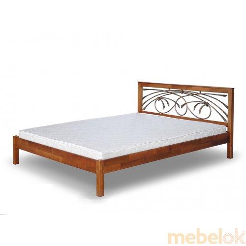Кровать Бордо с ковкой 180х190
