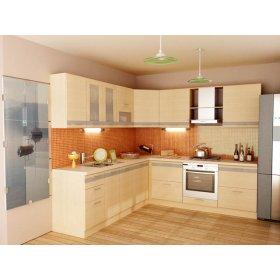 Кухня Адель-4 дуб молочный (4,2 м)