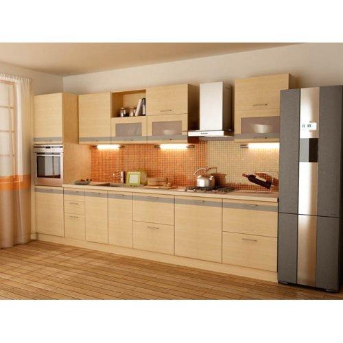 Кухня Адель-3 дуб молочный (3,6 м)