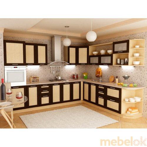 Зеркальное отображение - Кухня Адель-2 дуб венге (5,3 м)