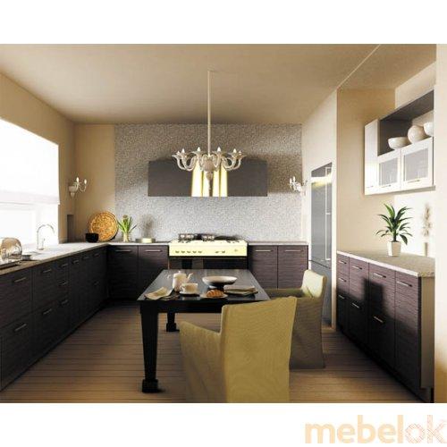 Зеркальное отображение - Кухня Сити-1 (7,4 м)