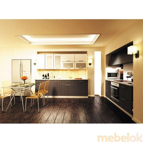 Зеркальное отображение - Кухня Сити-2 (4,2 м)