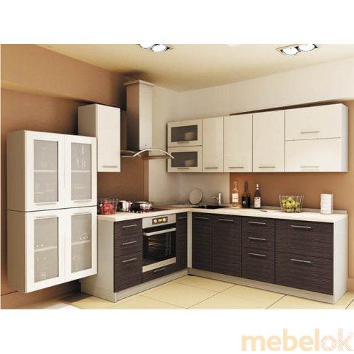 Зеркальное отображение - Кухня Сити-3 (4,4 м)
