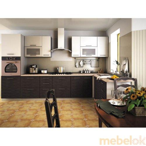 Зеркальное отображение - Кухня Сити-7 (5,2 м)