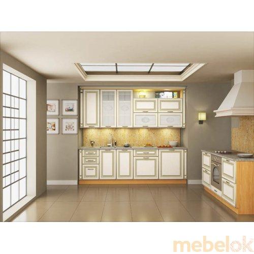 Зеркальное отображение - Кухня Классик-1 (4,3 м)