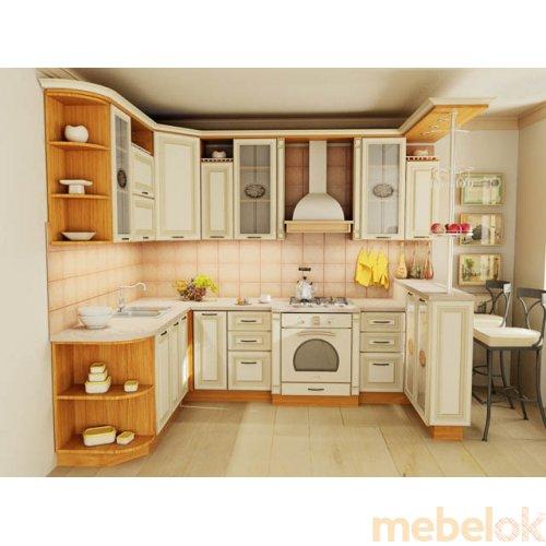 Зеркальное отображение - Кухня Классик-2 (3,5х1,9 м)
