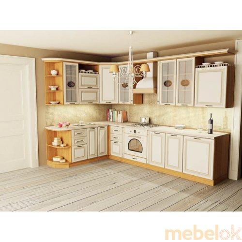 Зеркальное отображение - Кухня Классик-4 (3,1х1,3 м)