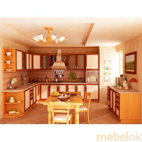 Зеркальное отображение - Кухня Эра-4 (6,7 м)