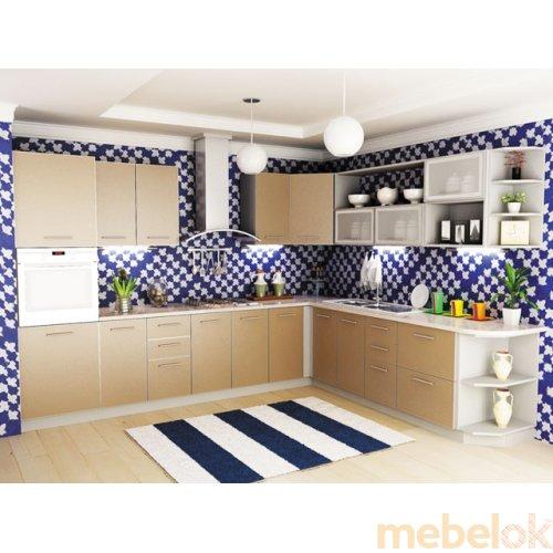 Зеркальное отображение - Кухня Капучино-9 (2,7х2,6 м)