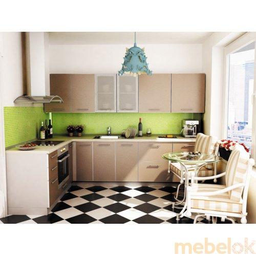 Зеркальное отображение - Кухня Капучино-4 (2,9х1,7 м)