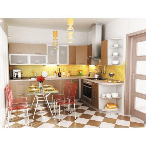 Кухня Капучино-3 (3,2х1,4 м)