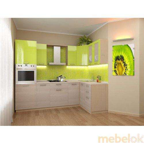 Зеркальное отображение - Кухня Киви-3 (2,0х1,4 м)