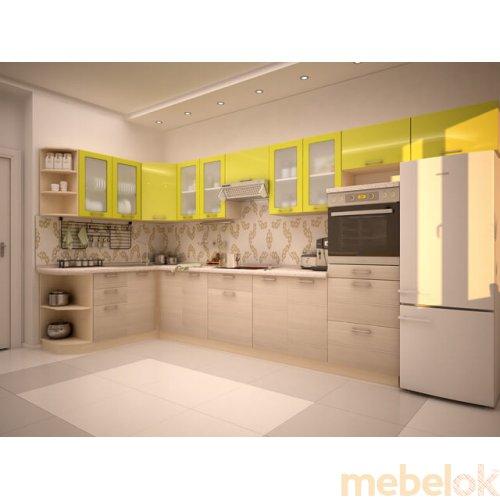 Зеркальное отображение - Кухня Киви-5 (2,8х1,7 м)