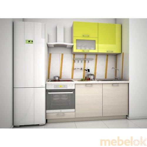 Зеркальное отображение - Кухня Киви-6 (1,5 м)