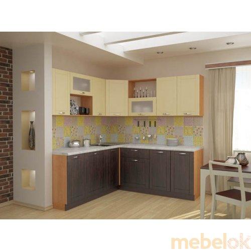 Зеркальное отображение - Кухня Тиса-10 (3,4 м)