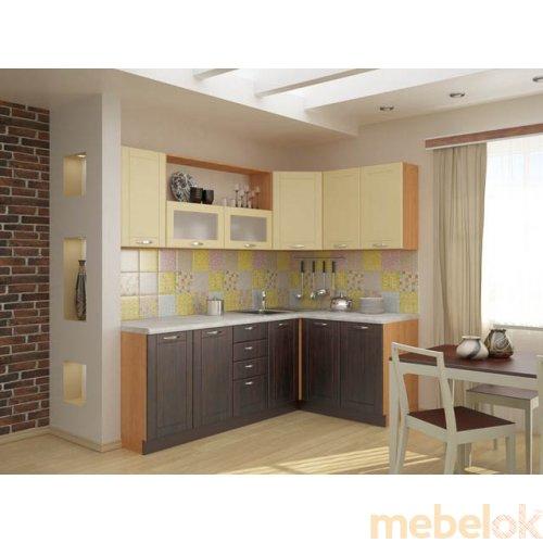 Зеркальное отображение - Кухня Тиса-8 (3 м)