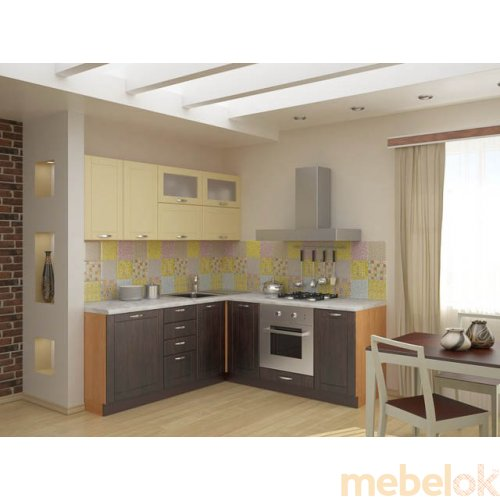 Зеркальное отображение - Кухня Тиса-9 (3 м)
