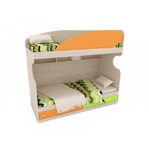 Кровать ЛКМ-107 90х195