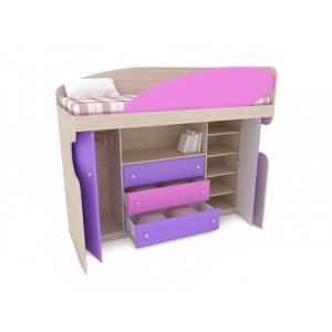 Кровать ЛКМ-111