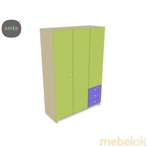 Шкаф гардеробный трехстворчатый ЛКМ-512