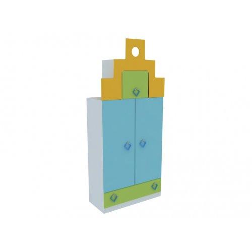 Шкаф гардеробный двустворчатый ГР-401 Городок