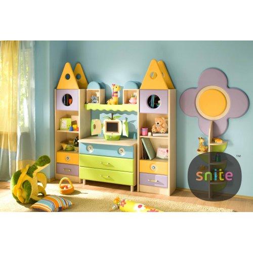 Комплект мебели Городок: маленький замок