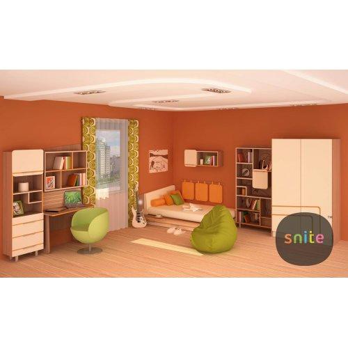Комплект молодежной мебели Line: бодрящие линии цвета