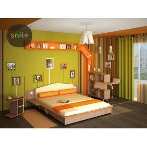 Комплект молодежной мебели Line: счастливые линии №1