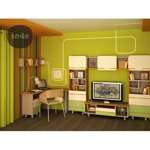 Комплект молодежной мебели Line: счастливые линии №3