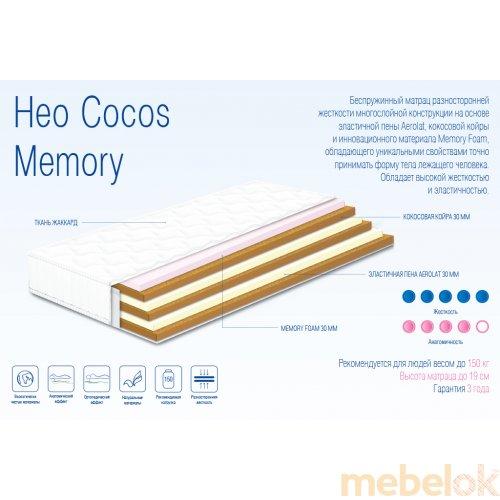Матрас ортопедический Нео Cocos Memory 180х200