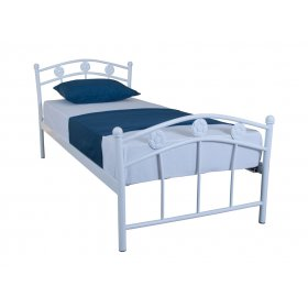 Детская односпальная кровать Eagle SMART 90х200 white