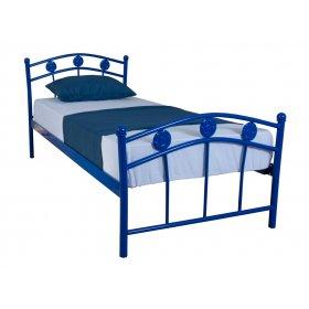 Детская односпальная кровать Eagle SMART 90х200 blue