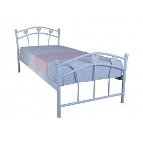 Детская односпальная кровать Eagle MARLENA 90х200 white