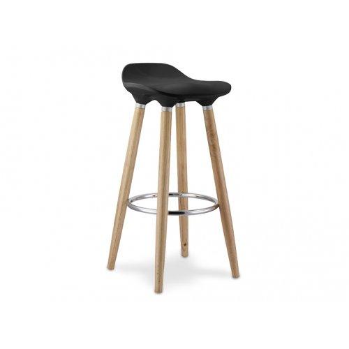 Барный стул Полино (черный)