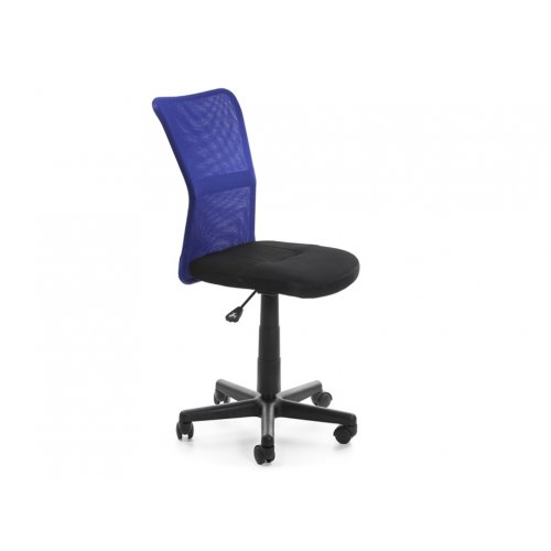 Кресло детское Амадо (черно-синее)