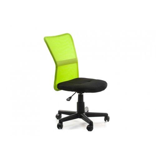 Кресло детское Амадо (черно-зеленое)
