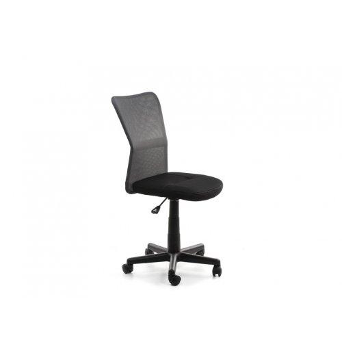Кресло детское Амадо (черно-серое)