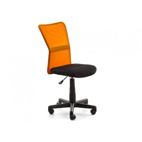 Кресло детское Амадо (черно-оранжевое)