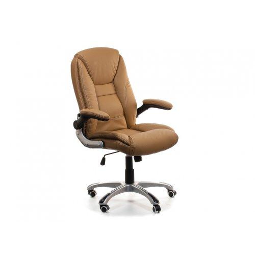 Кресло офисное Ренато (бежевое)