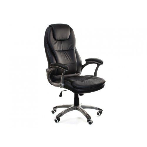 Кресло офисное Леонардо (черное)