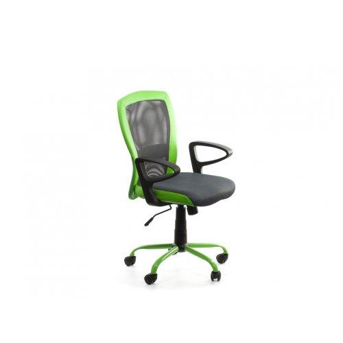 Кресло офисное Паола (черно-зеленое)