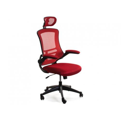 Кресло офисное Данте в красном цвете
