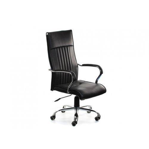 Кресло офисное Лауро (черное)