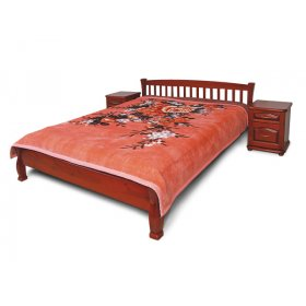 Кровать Верона 2 дуб 80х200