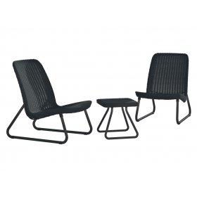 Комплект мебели Rio patio set серый