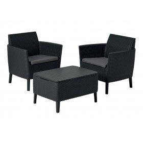Комплект мебели Salemo balcony set серый